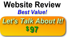 Website Review and Walk-Through - Let's Talk About Your Website