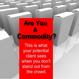 Are you a commodity