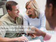 Using referrals to grow a private practice does not work like it used to work.
